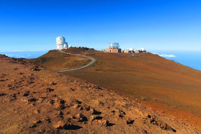 Haleakala Volcano summit - Maui Hawaii