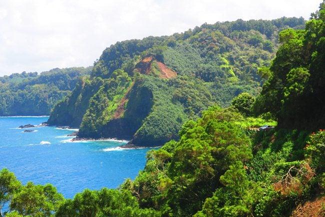 Honomanu Bay - road to Hana - Maui Hawaii