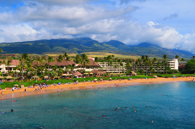 Ka'anapali Beach - Maui Hawaii