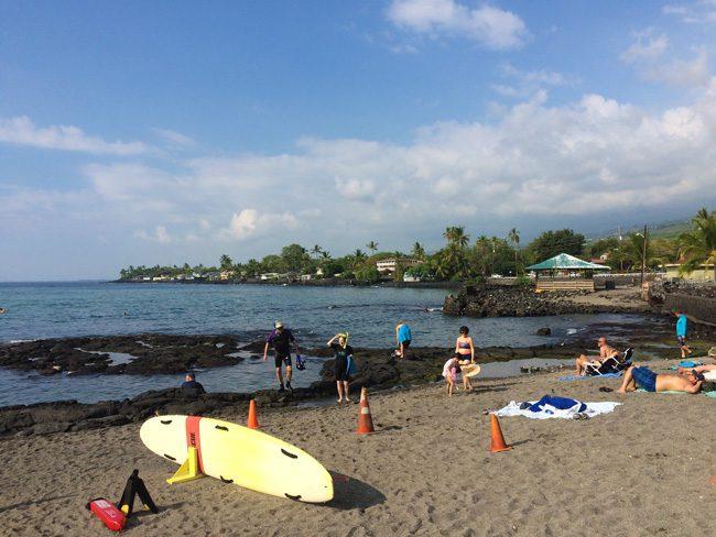 Kahaluu Beach Park - Big Island Hawaii