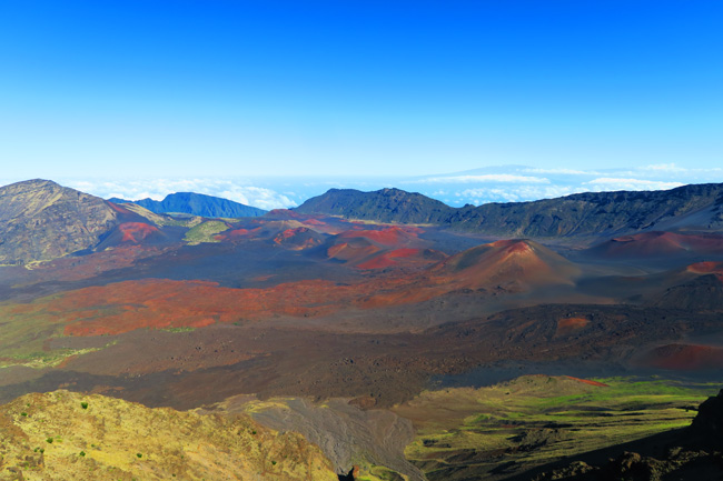 Kalahaku Overlook - Haleakala National Park - Maui, Hawaii