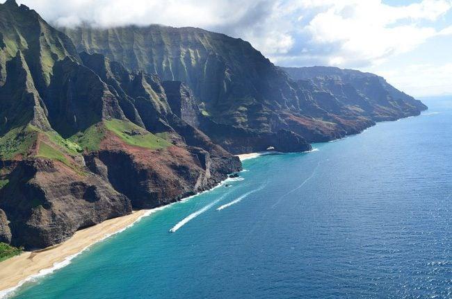 Kalalau Beach - Na Pali Cliffs - Kauai - Hawaii