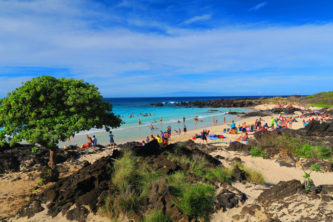 Kua Bay Beach - Big Island Hawaii