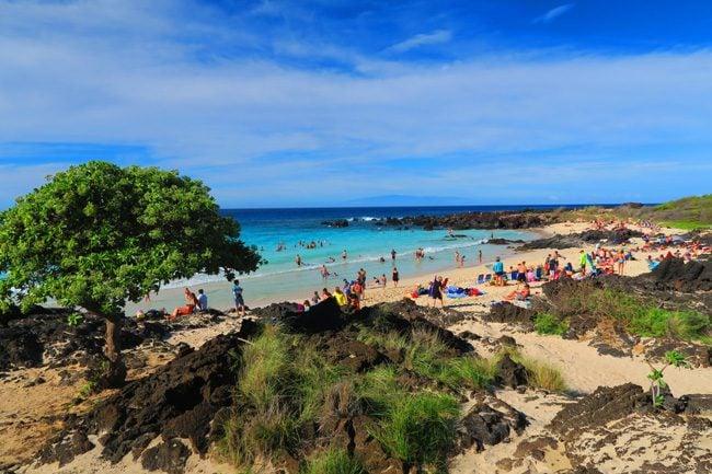 Kua Bay Beach - Big Island Hawaii