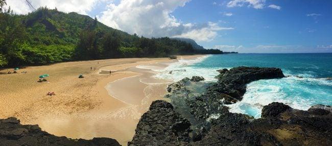Lumahai Beach - Kauai - Hawaii