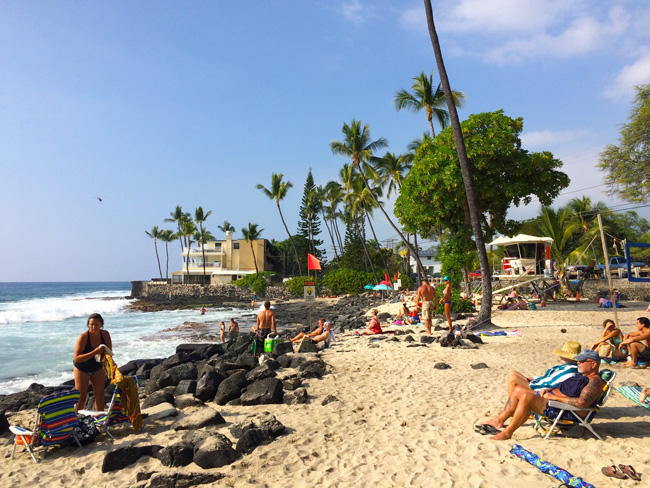 Magic Sands Beach Kona Island Hawaii