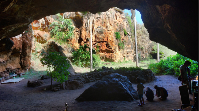 Makauwahi Cave - kauai - Photo by Tony Crider