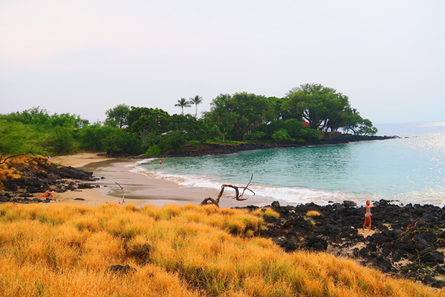 Mau'umae Beach - Big Island Hawaii