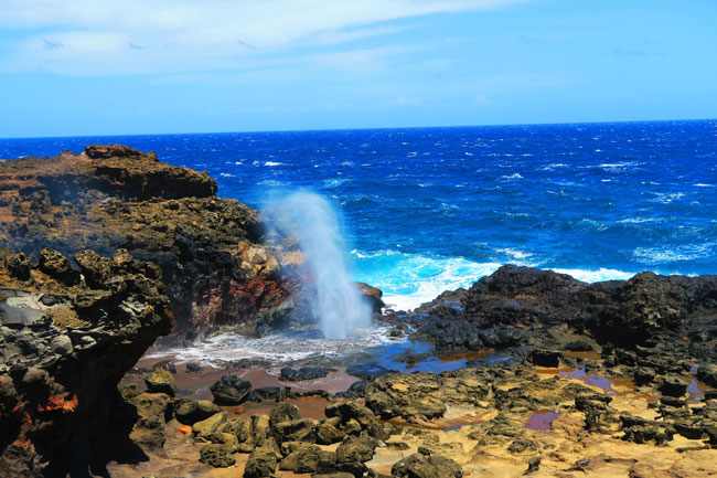 Nakalele Blowhole - Maui Hawaii