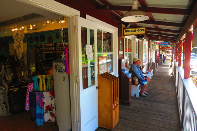 Old Koloa Town - Kauai - Hawaii - shops