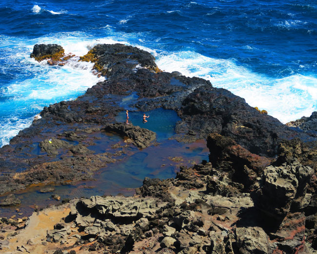 Olivine Pool - Maui Hawaii