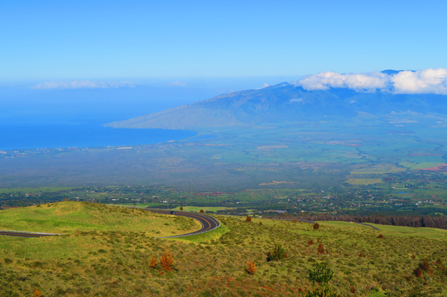 Road to Haleakala Summit - Maui Hawaii