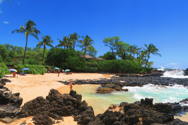 Secret Cove Beach Maui Hawaii