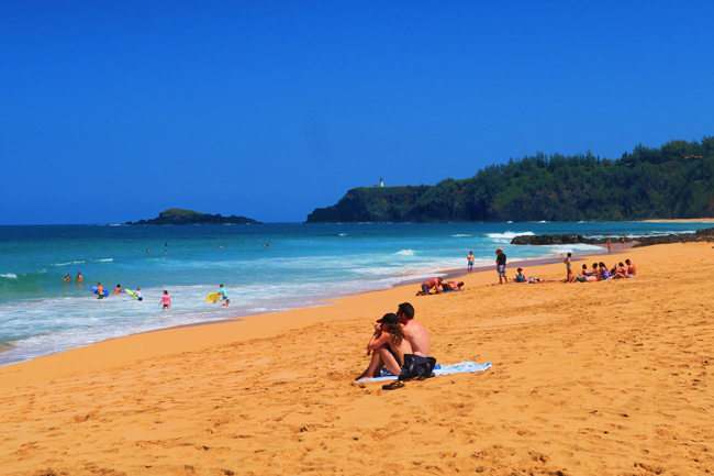 Secrets Beach - Kauai - Hawaii