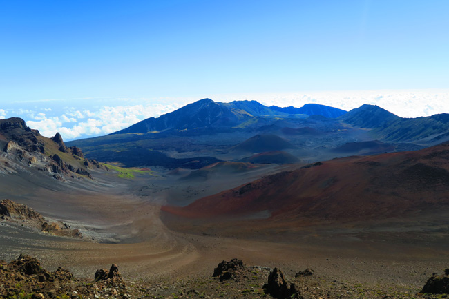 Sliding Sands Hike - Haleakala Crater - Maui Hawaii 1