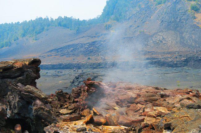 Steam Vents - Kilauea Iki Hike -Volcano National Park - Big Island Hawaii