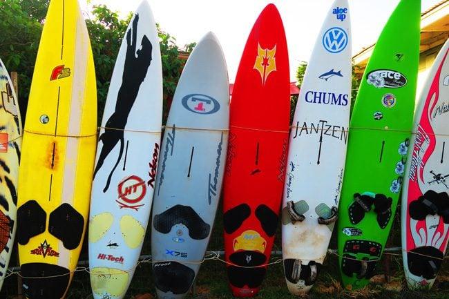 Surfboard in Paia - Maui Hawaii