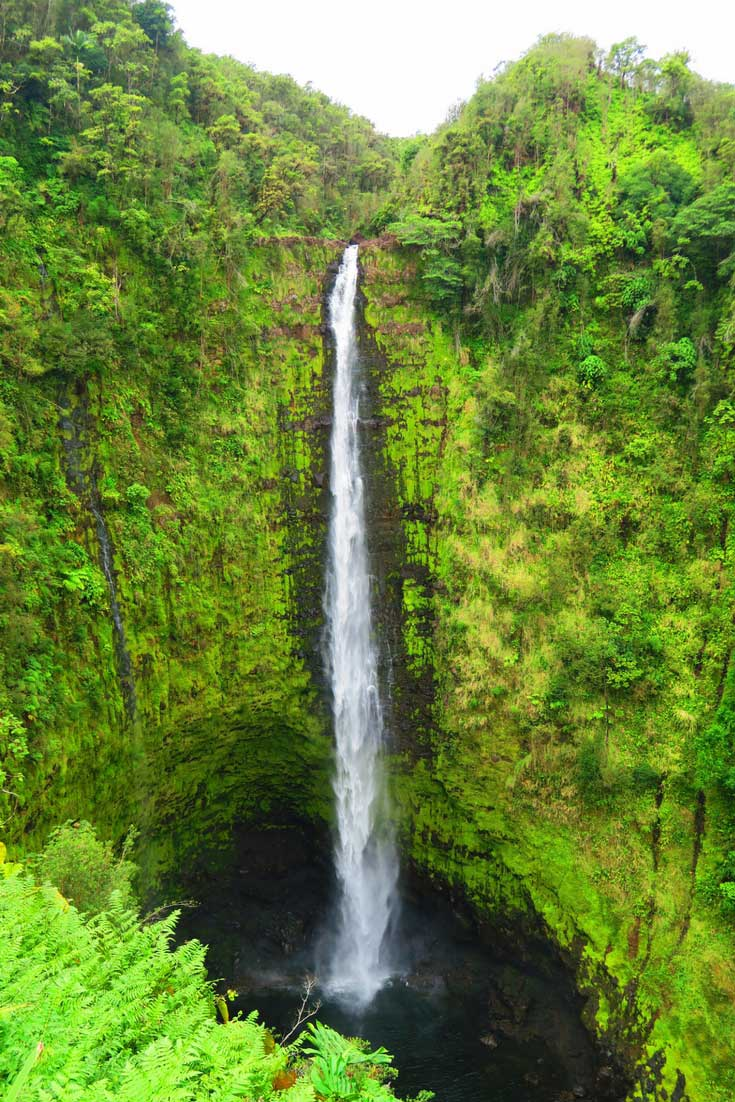 The Best Beaches On The Big Island Of Hawaii - Pinterest - Akaka Falls