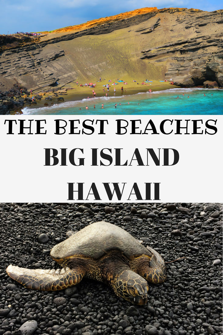 The Best Beaches On The Big Island Of Hawaii - Pinterest Cover_2