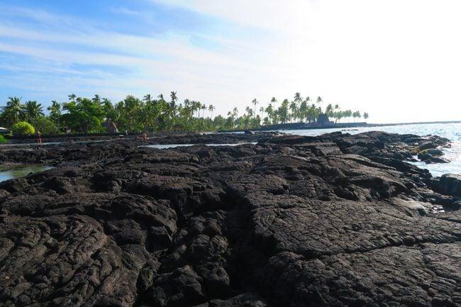 Two Step Beach - Big Island Hawaii