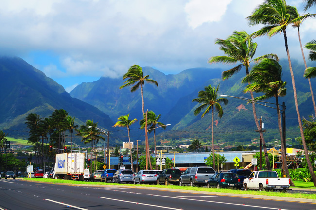 Wailuku Iao Valley - Maui, Hawaii