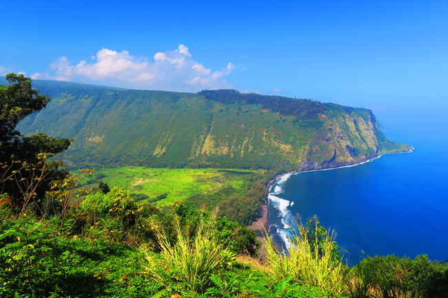 Waipio Valley Overlook - Big Island Hawaii