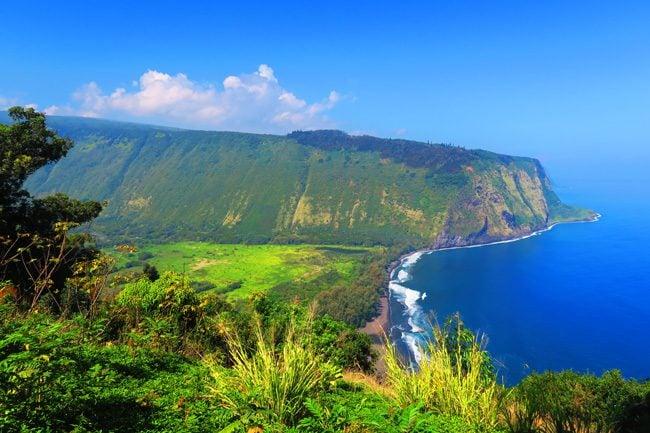 Waipio Valley Overlook - Big Island Hawaii