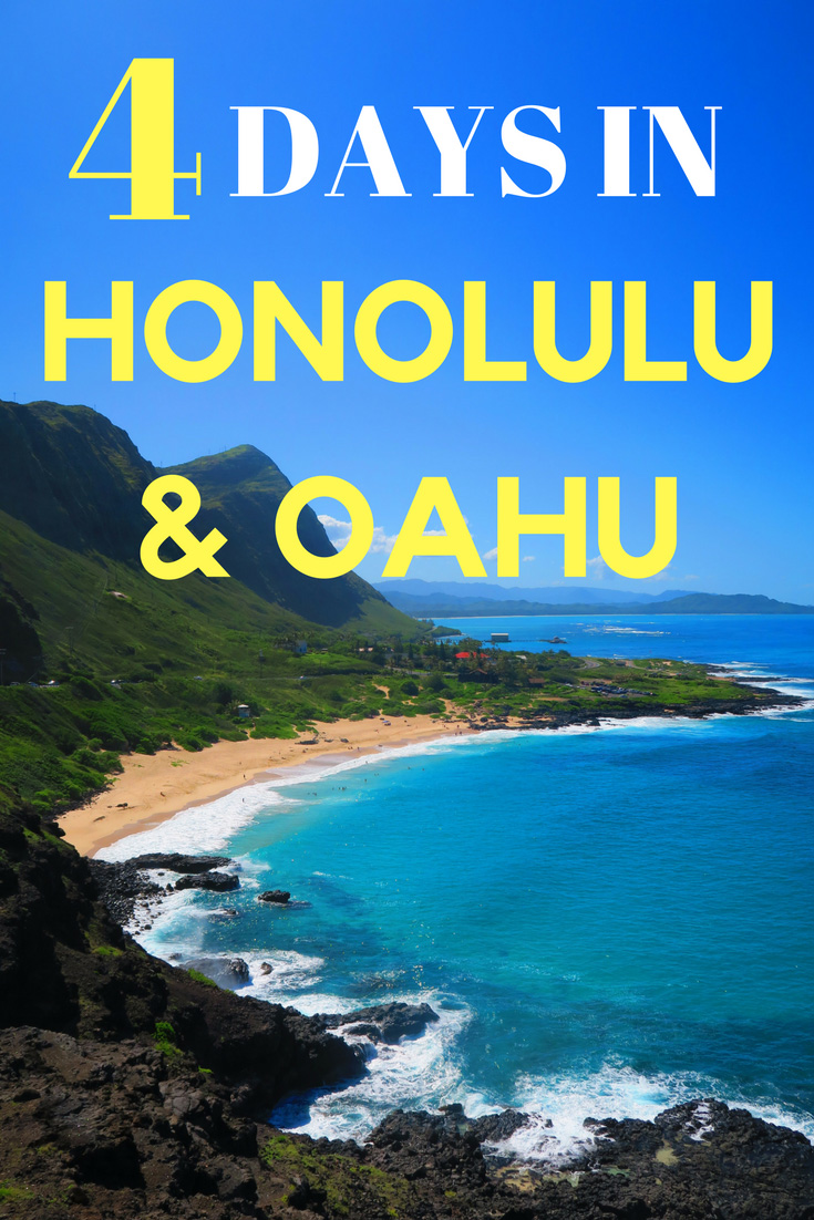 4-Days-in-Honolulu-and-Oahu-Itinerary-Hawaii - PIN