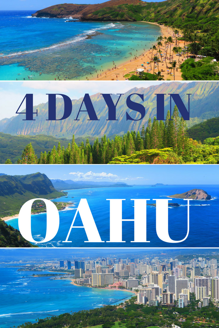 4-Days-in-Honolulu-and-Oahu-Sample-Itinerary-Hawaii - Pin