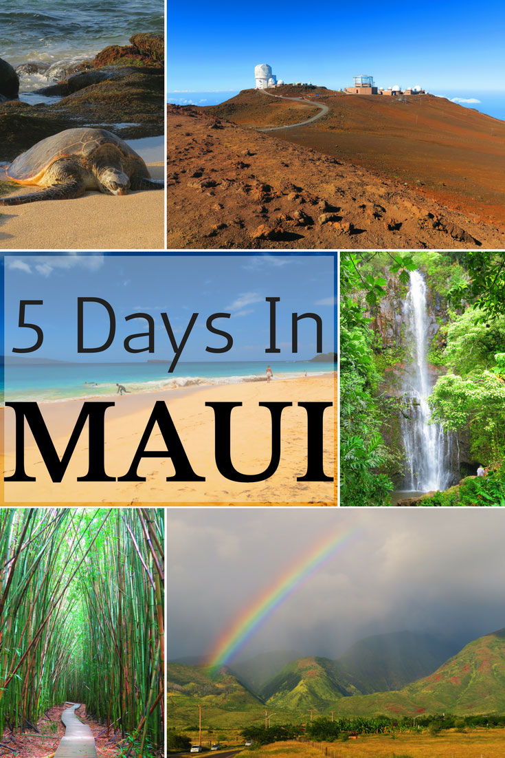 5 days in maui sample itinerary hawaii travel guide. Black Bedroom Furniture Sets. Home Design Ideas