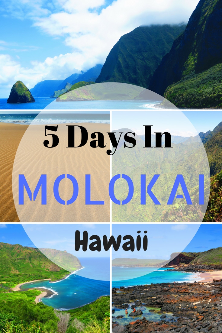 5 Days In Molokai - Sample Itinerary - Pin