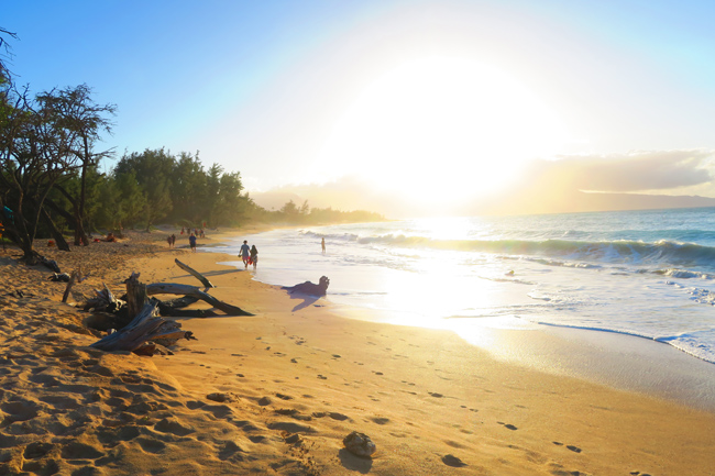 Baldwin Beach Park - Maui - Hawaii - Sunset