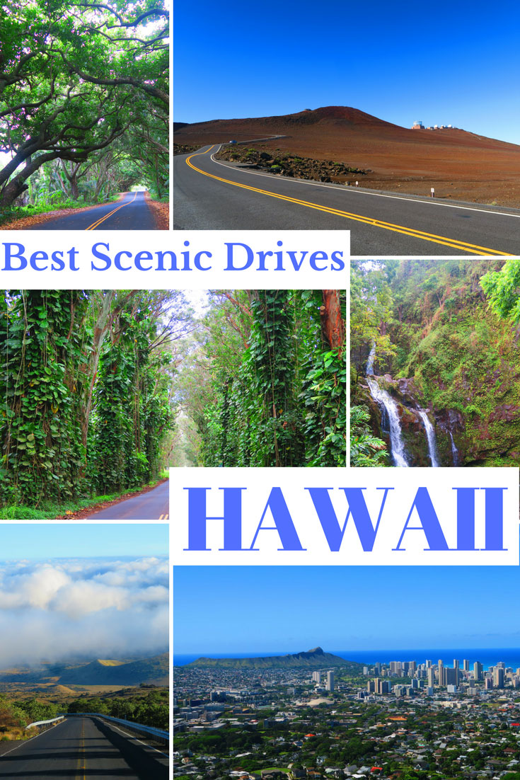 Best Scenic Drives In Hawaii - Pin