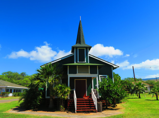 Church Row - Molokai - Hawaii
