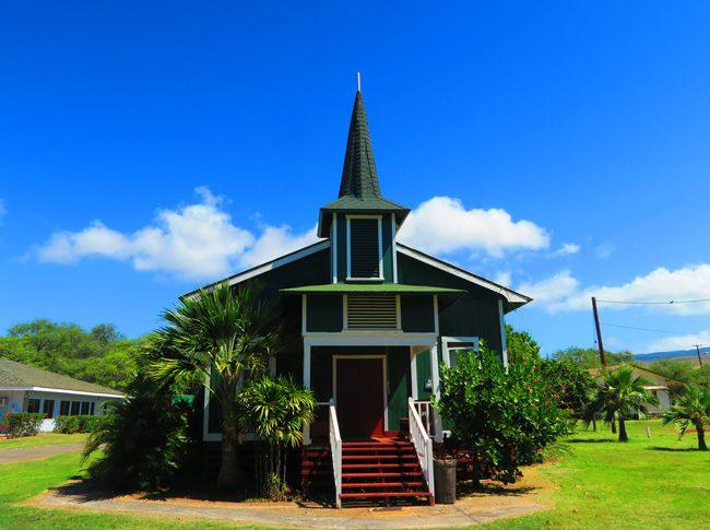 Church Row - Molokai - Hawaii