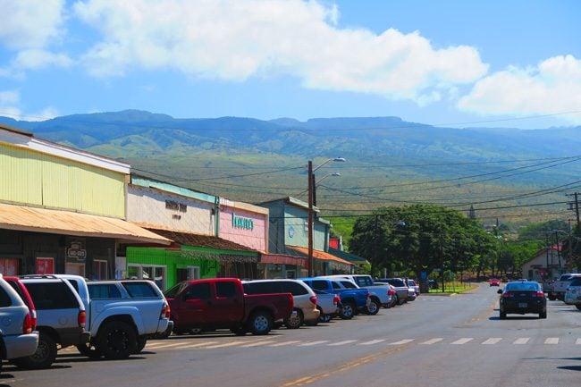 Downtown Kaunakakai - Molokai - Hawaii -