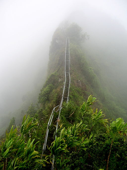 Haiku Stairs by Kirinwizard