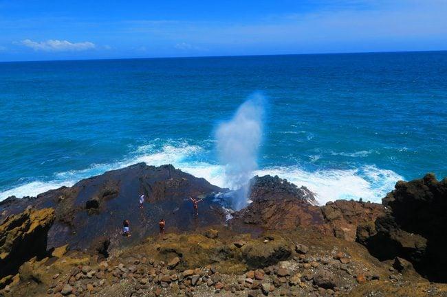 Halona Blowhole - Oahu - Hawaii