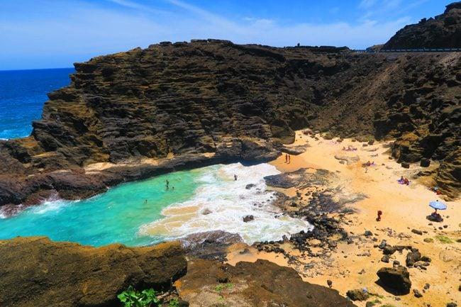 Halona Cockroach Beach - Oahu - Hawaii