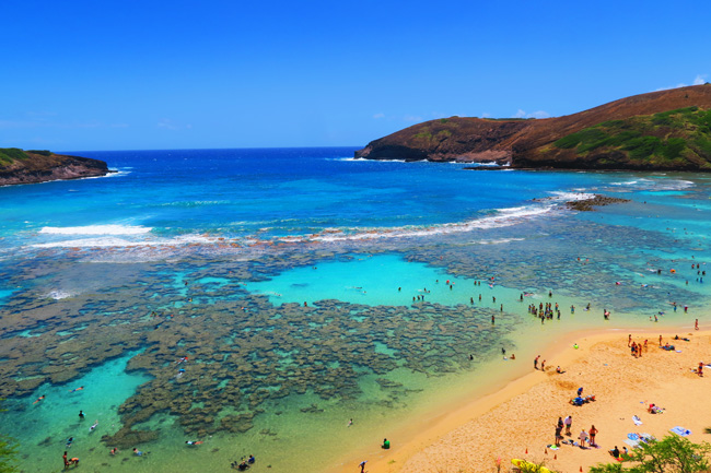 Hanauma Bay Beach - Oahu- Hawaii