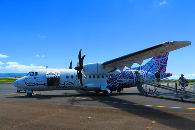 Hawaiian Airlines - Molokai airport - Hawaii