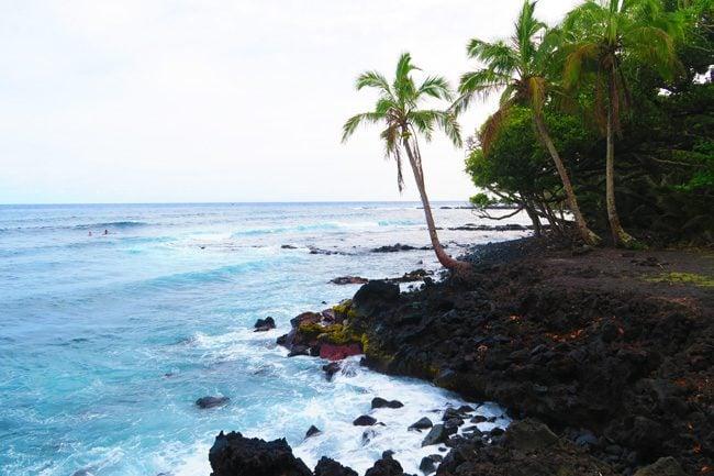 Highway 137 - Big Island - Hawaii