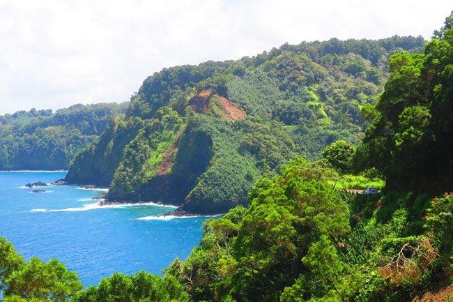 Honomanu Bay - Hana Highway - Maui - Hawaii