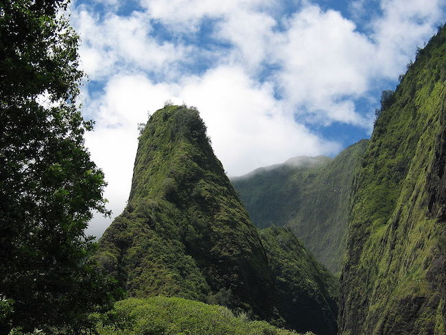 Iao Valley Needle - By Michael Oswald, Mikeo