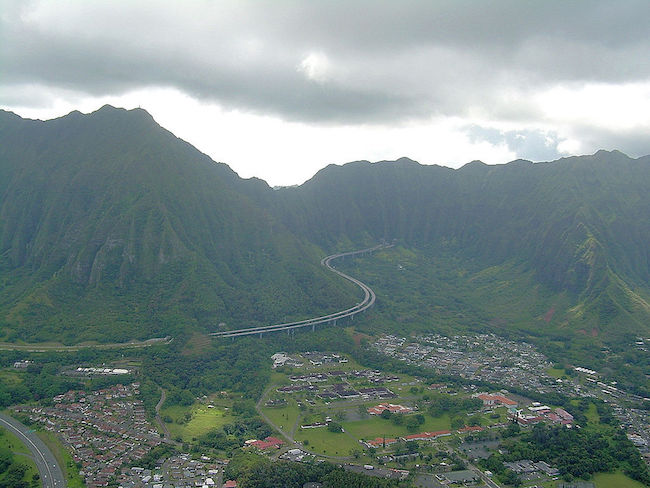Interstate H3 Oahu - Hawaii
