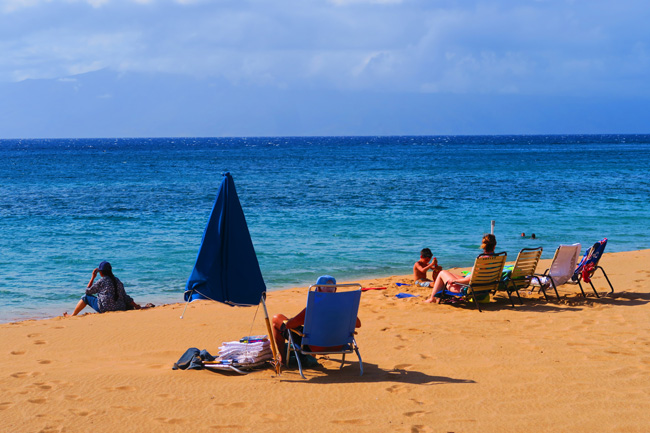Kaanapali Beach - Maui - Hawaii