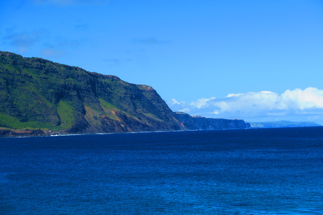 Kalaupapa Cliffs - Molokai - Hawaii