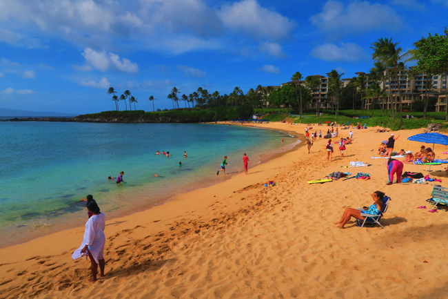 Kapalua Beach - Maui - Hawaii