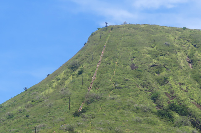 Koko Head Trail - Oahu Hawaii