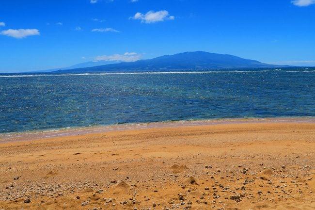 Lanai from Molokai - Hawaii
